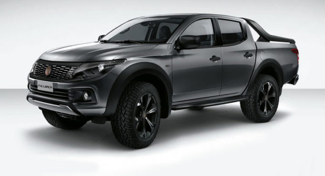 2016 Fiat Fullback front view