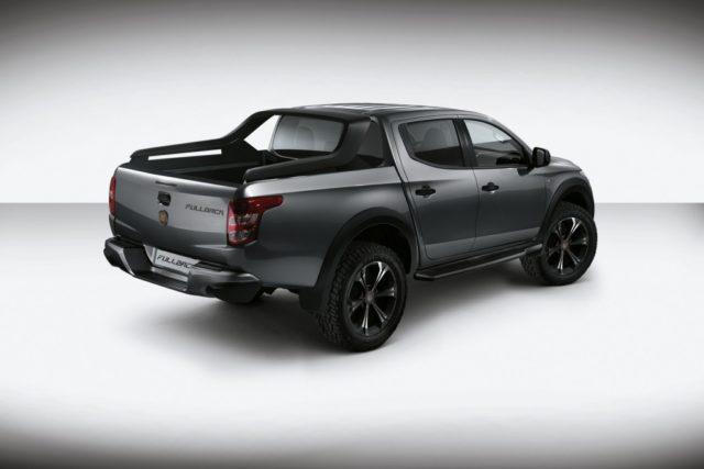 2016 Fiat Fullback rear