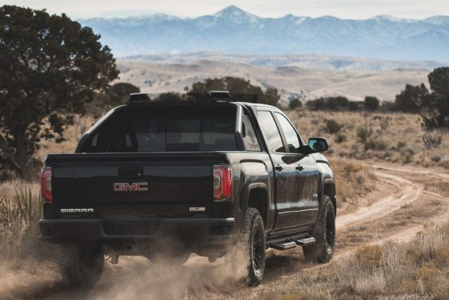 2016 GMC Sierra All Terrain X rear