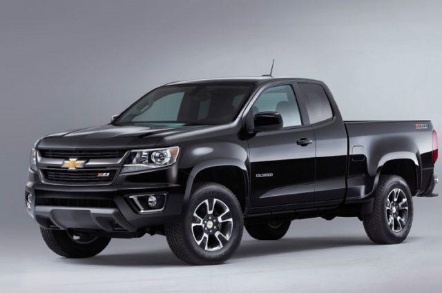 2017 Chevrolet Colorado front