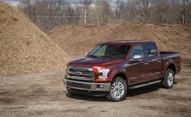 2017 Ford F-150 front