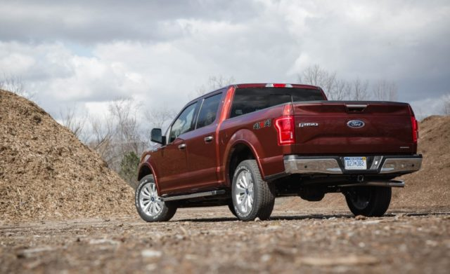 2017 Ford F-150 side