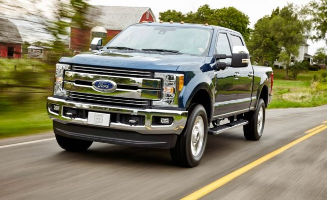 2017 Ford F-250 front