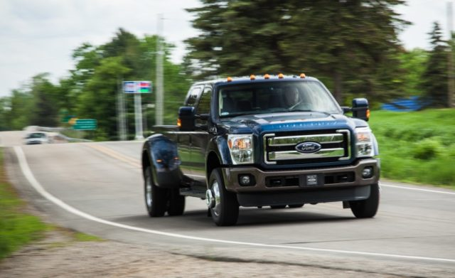 2017 Ford F-350 front