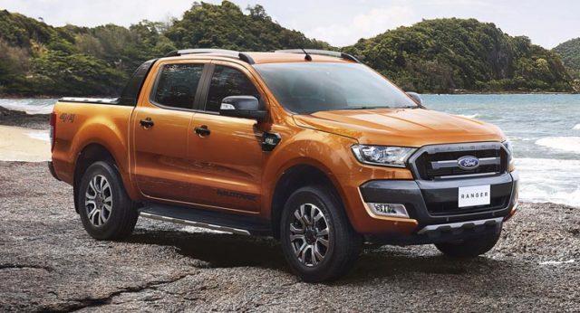 2017 Ford Ranger front