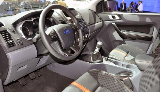 2017 Ford Ranger interior