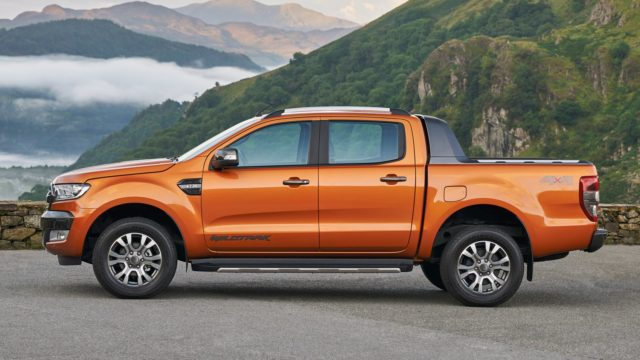 2017 Ford Ranger side