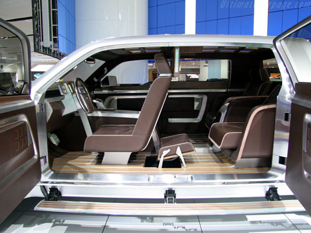2017 Ford Super Chief interior