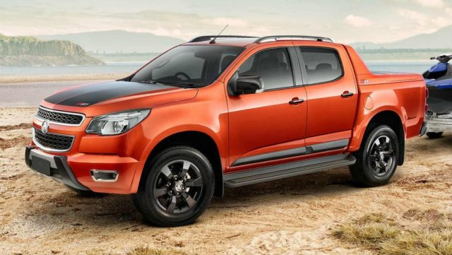 2017 Holden Colorado side