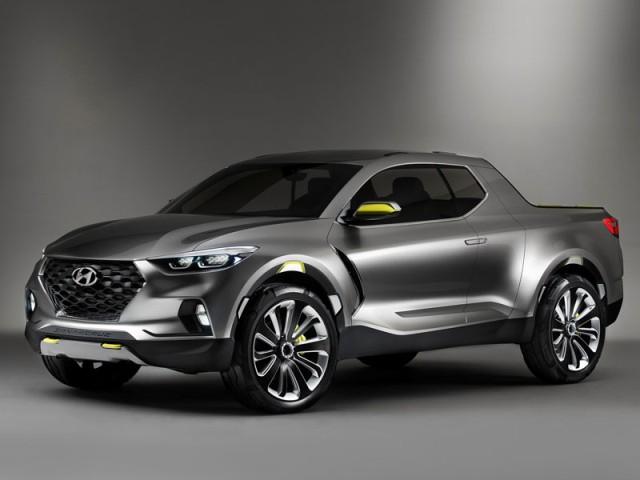 2017 Hyundai Santa Cruz front