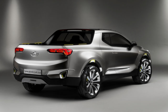 2017 Hyundai Santa Cruz rear