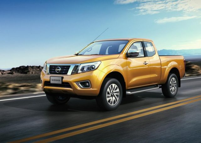 2017 Nissan Frontier front