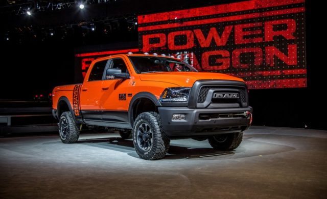 2017 Ram 2500 Power Wagon front