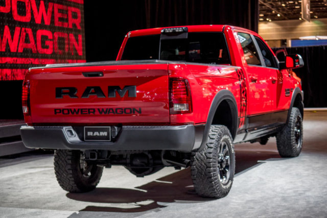 2017 Ram 2500 Power Wagon rear