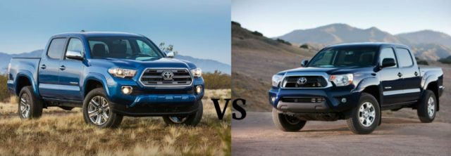 2017 Toyota Tacoma TRD PRO VS Old One