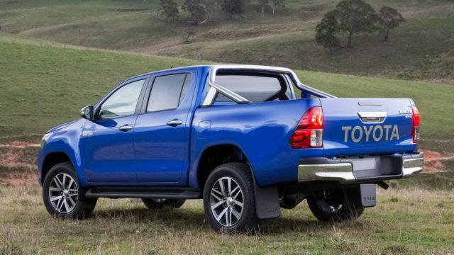 Toyota Hilux 2017 rear