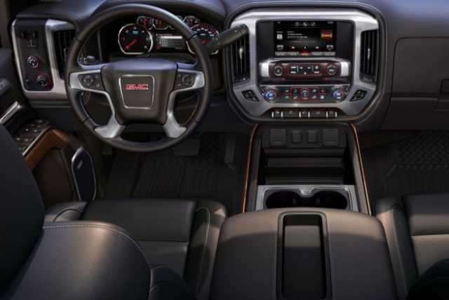 2017 GMC Sierra 1500 interior