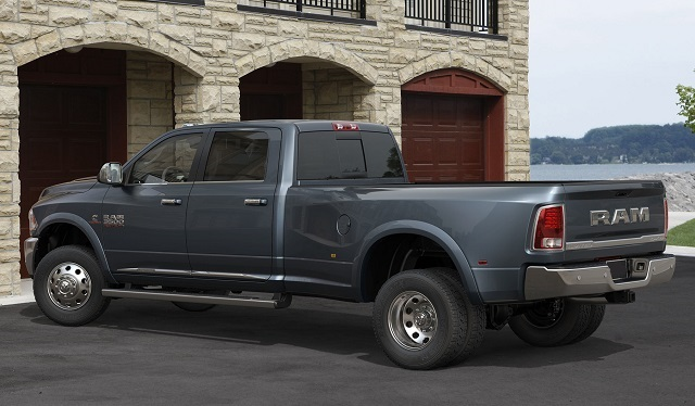 2017 RAM 3500 - rear