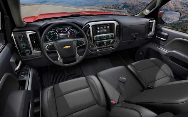 2017 Chevy Reaper interior