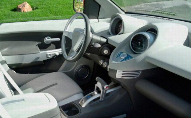 Kia Mojave Pickup Truck interior