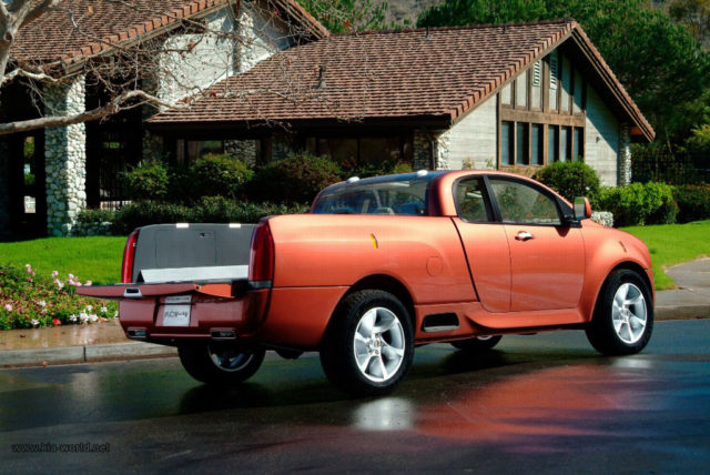 Kia Mojave Pickup Truck side