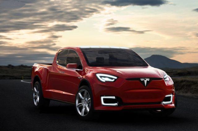 Tesla Model U front