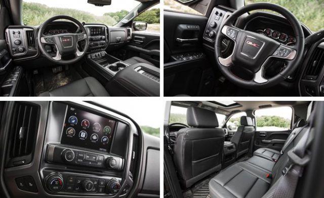 2017 GMC Sierra HD All TeRerrain X interior