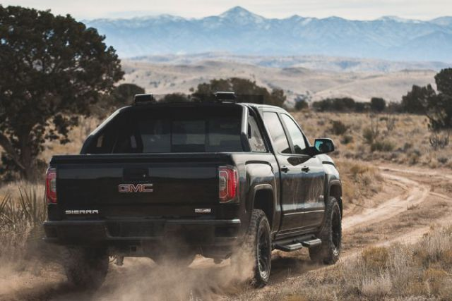 2017 GMC Sierra HD All TeRerrain X rear