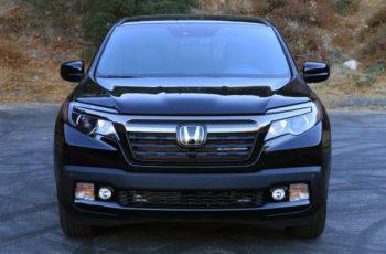 2017 Honda Ridgeline Black Edition front