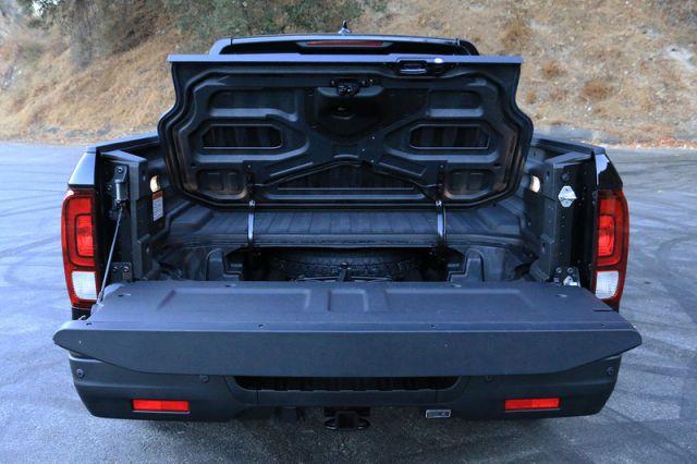2017 Honda Ridgeline Black Edition rear