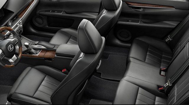 Lexus Pickup Truck interior