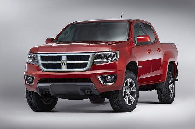 2017 Dodge Dakota front