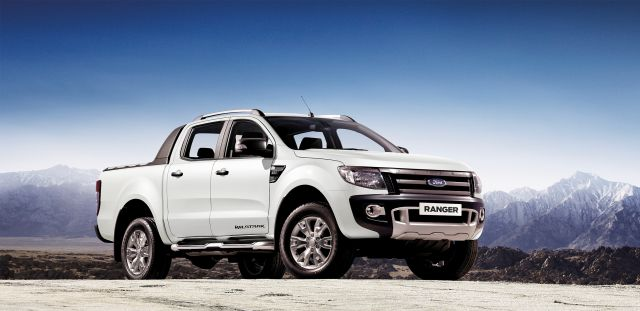 2017 Ford Ranger Wildtrak front