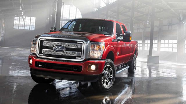 2017 Ford Super Duty Platinum