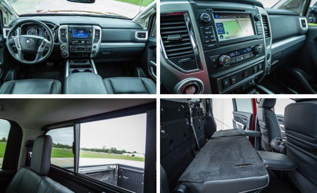 2017 Nissan Titan Pro-4X interior
