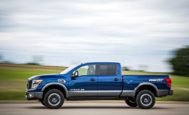 2017 Nissan Titan XD side