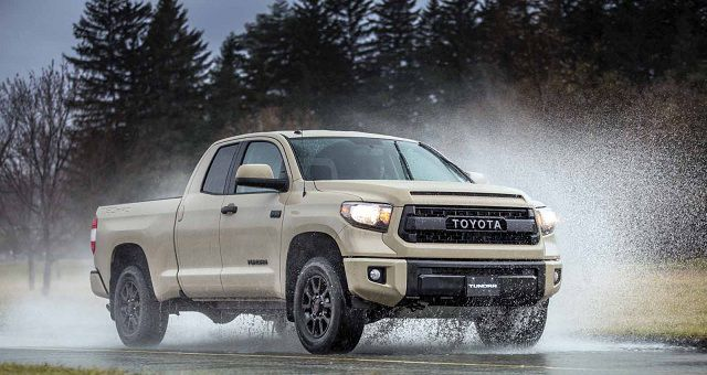 2017 Toyota Tundra TRD Pro front