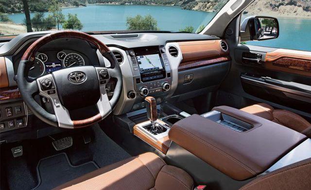2017 Toyota Tundra TRD Pro interior