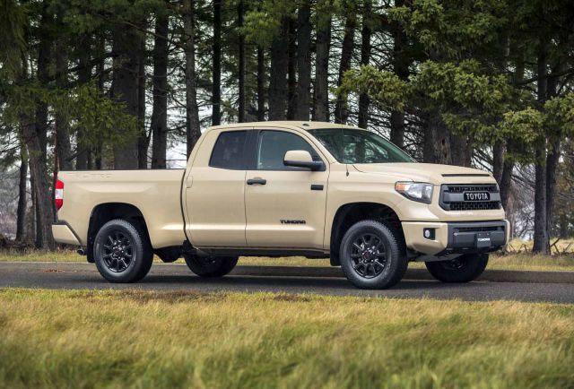 2017 Toyota Tundra Trd Pro Side