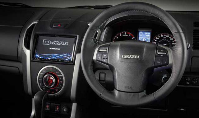Isuzu D-Max 2017 interior