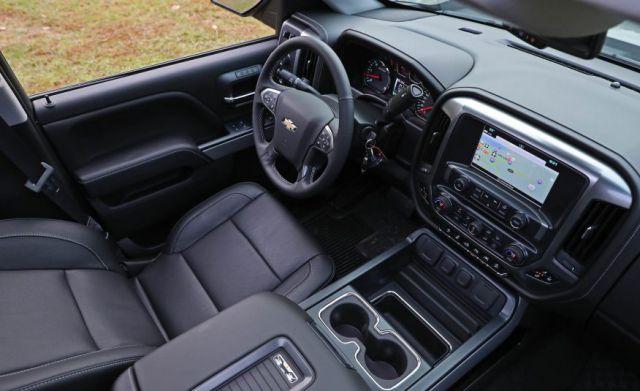 2017 Chevy Silverado 1500 Crew Cab interi
