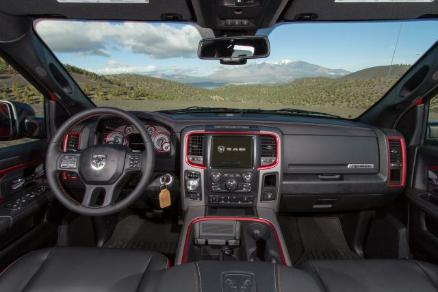 2017 Ram 1500 Rebel TRX interior