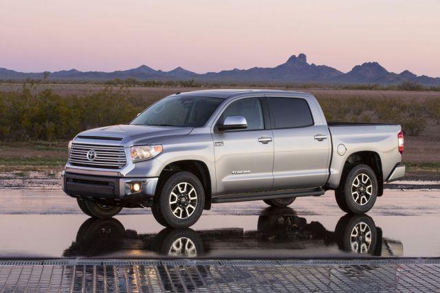 2017 Toyota Tundra Diesel side