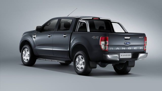 2018 Ford Ranger rear