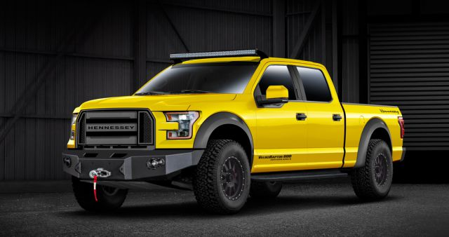 Ford Velociraptor 600 front