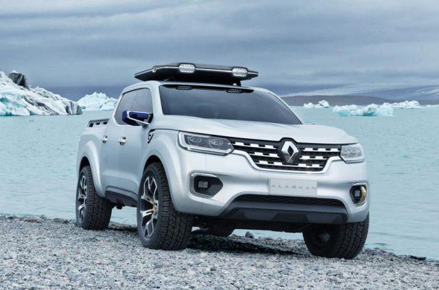 Renault Alaskan front