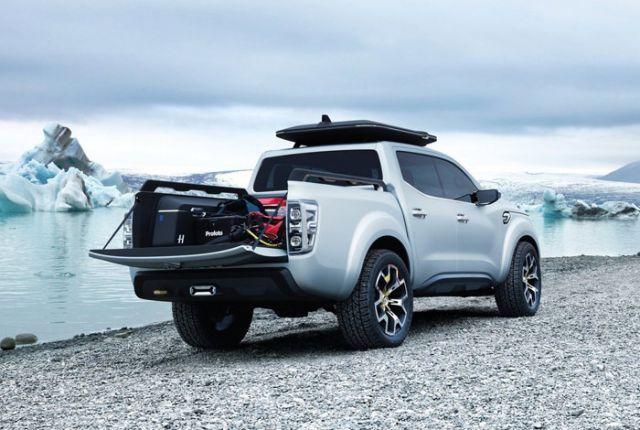 Renault Alaskan rear