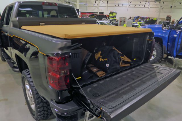 2017 Chevy Silverado 2500 HD Carhartt rear