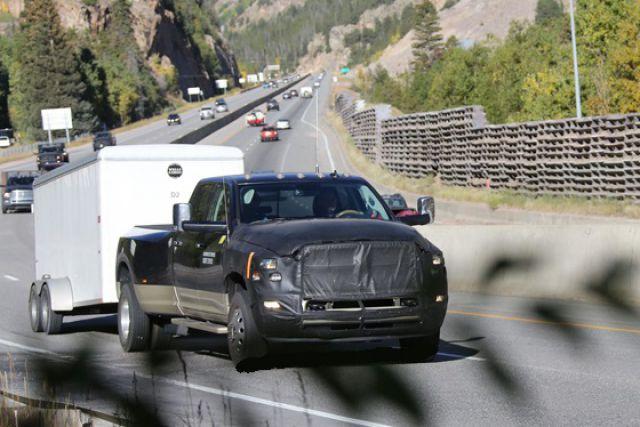 2018 Dodge Ram 2500/3500 front