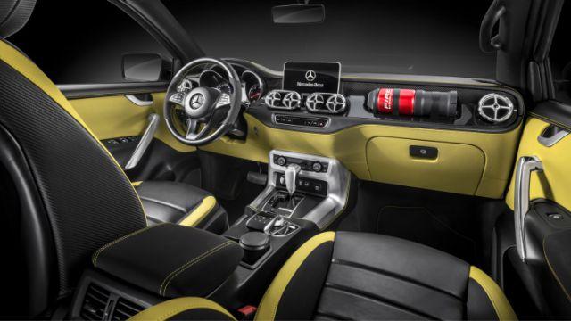 Mercedes X-Class interior